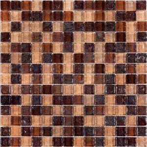 Ceramstic mozaika szklana Arte Brown MS.18 30×30 G.1