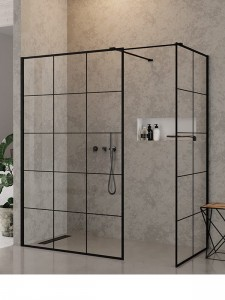 New Trendy walk-in NEW MODUS BLACK 150x90x200 EXK-0113